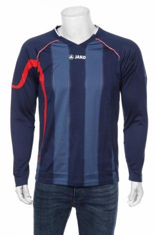 Мъжка спортна блуза Jako, Размер M, Цвят Син, 100% полиестер, Цена 11,40лв.