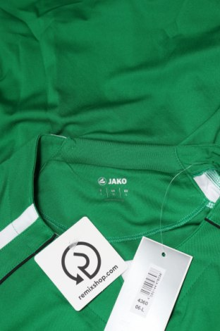 Мъжка спортна блуза Jako, Размер L, Цвят Зелен, 100% полиестер, Цена 13,30лв.