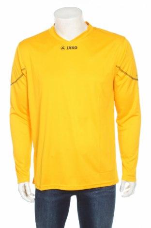 Мъжка спортна блуза Jako, Размер L, Цвят Жълт, 100% полиестер, Цена 11,40лв.