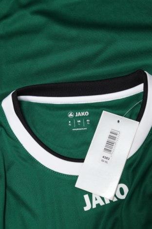 Мъжка спортна блуза Jako, Размер XL, Цвят Зелен, 100% полиестер, Цена 13,30лв.