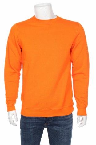 Мъжка спортна блуза Jako, Размер M, Цвят Оранжев, 70% памук, 30% полиестер, Цена 16,72лв.