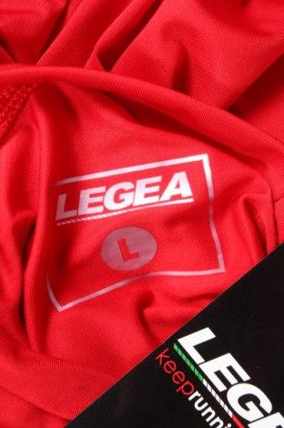 Мъжка спортна блуза Legea, Размер L, Цвят Червен, 92% полиестер, 8% еластан, Цена 31,50лв.
