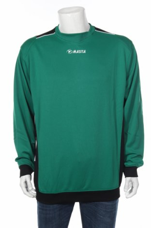 Мъжка спортна блуза Masita, Размер XL, Цвят Зелен, 100% полиестер, Цена 14,70лв.