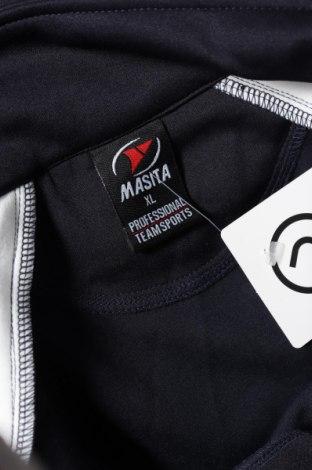 Мъжка спортна блуза Masita, Размер XL, Цвят Син, 85% полиестер, 15% памук, Цена 16,10лв.