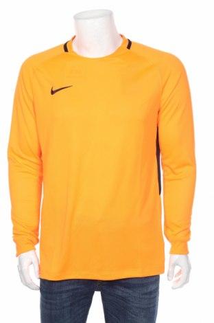 Мъжка спортна блуза Nike, Размер L, Цвят Оранжев, Полиестер, Цена 51,00лв.