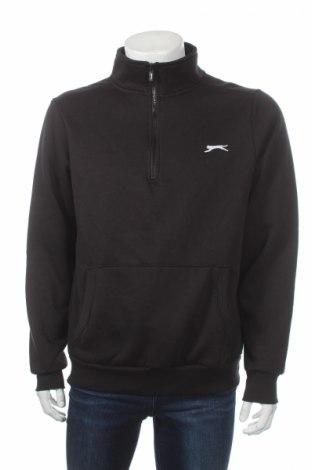 Мъжка спортна блуза Slazenger, Размер M, Цвят Черен, 65% полиестер, 35% памук, Цена 11,20лв.