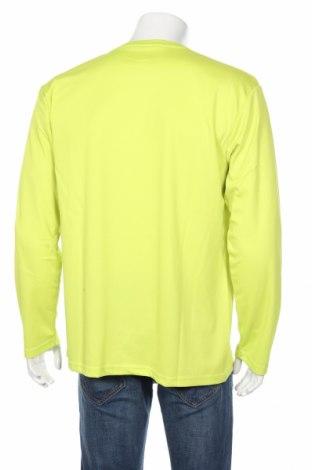 Мъжка спортна блуза Spiro, Размер XXL, Цвят Зелен, Полиестер, Цена 16,80лв.