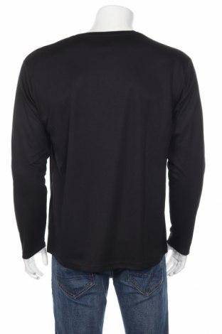 Мъжка спортна блуза Spiro, Размер L, Цвят Черен, Полиестер, Цена 14,70лв.