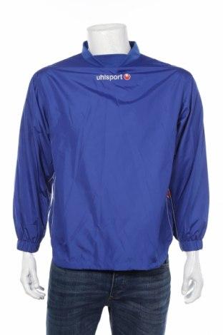 Мъжка спортна блуза Uhlsport, Размер S, Цвят Син, Полиестер, Цена 15,40лв.