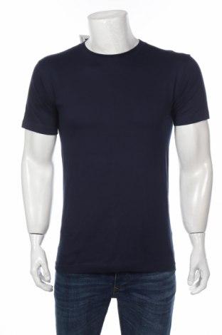 Мъжка тениска, Размер M, Цвят Син, Памук, Цена 19,72лв.