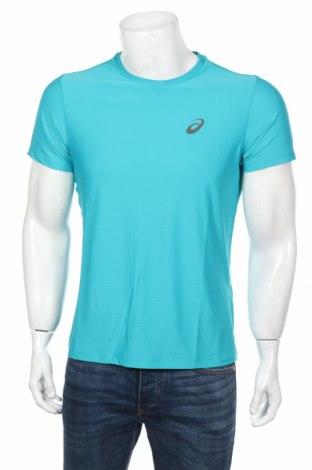 Мъжка тениска ASICS, Размер S, Цвят Син, Полиестер, Цена 14,70лв.