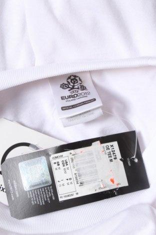 Мъжка тениска Adidas, Размер M, Цвят Бял, Полиестер, Цена 29,25лв.