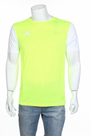 Мъжка тениска Adidas, Размер M, Цвят Зелен, Полиестер, Цена 20,46лв.