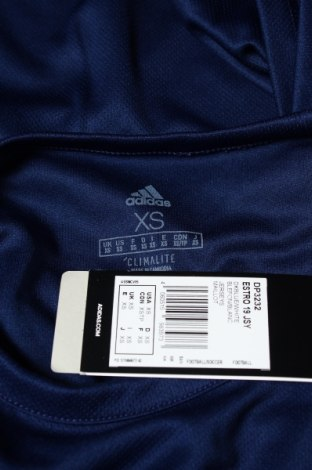 Мъжка тениска Adidas, Размер XS, Цвят Син, Полиестер, Цена 18,60лв.