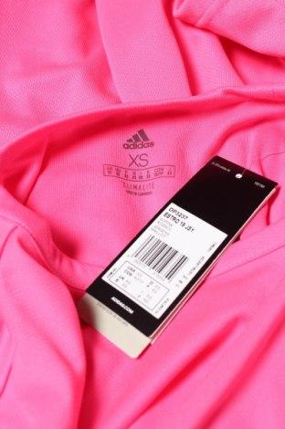 Мъжка тениска Adidas, Размер XS, Цвят Розов, Полиестер, Цена 15,50лв.