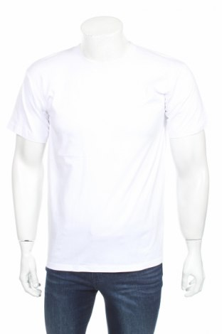 Мъжка тениска B&C, Размер S, Цвят Бял, 100% памук, Цена 19,72лв.