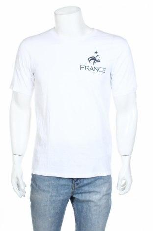 Мъжка тениска FFF France, Размер M, Цвят Бял, Памук, Цена 13,65лв.