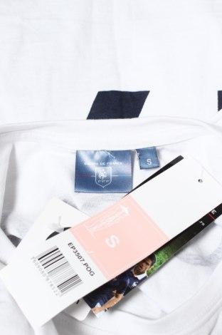 Мъжка тениска FFF France, Размер S, Цвят Бял, Памук, Цена 13,65лв.