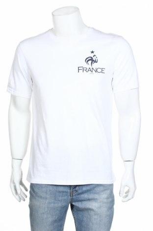 Pánske tričko  FFF France, Veľkosť M, Farba Biela, Bavlna, Cena  6,03€