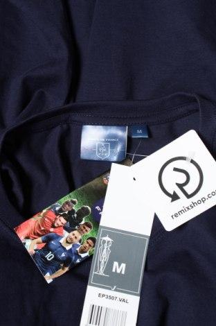 Мъжка тениска FFF France, Размер M, Цвят Син, Памук, Цена 15,60лв.