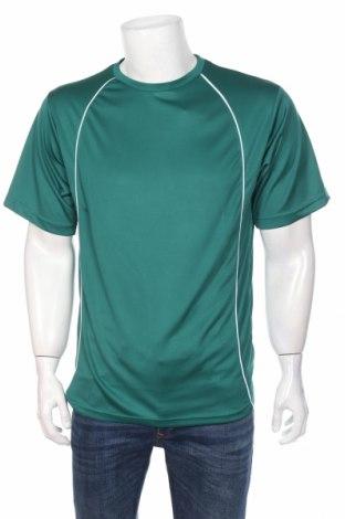 Мъжка тениска Gm, Размер M, Цвят Зелен, Полиестер, Цена 24,00лв.