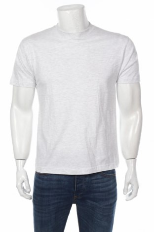 Мъжка тениска Hakro, Размер XS, Цвят Сив, 98% памук, 2% вискоза, Цена 19,72лв.