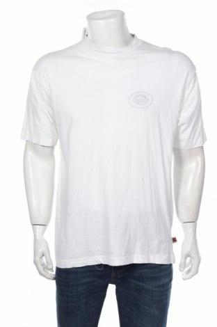 Мъжка тениска Highroad, Размер M, Цвят Бял, 100% памук, Цена 19,72лв.
