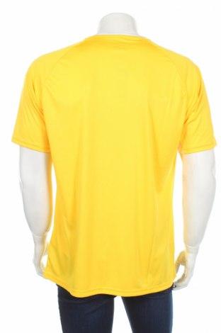 Мъжка тениска Hummel, Размер XL, Цвят Жълт, Полиестер, Цена 11,90лв.
