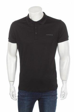 Мъжка тениска Icepeak, Размер S, Цвят Черен, Полиестер, Цена 24,20лв.