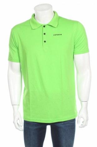 Мъжка тениска Icepeak, Размер L, Цвят Зелен, Полиестер, Цена 24,20лв.