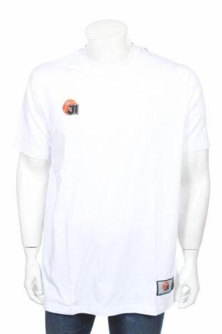 Мъжка тениска Jako, Размер L, Цвят Бял, 95% памук, 5% еластан, Цена 11,70лв.