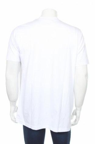 Мъжка тениска Jako, Размер L, Цвят Бял, 95% памук, 5% еластан, Цена 13,65лв.