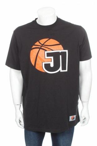 Мъжка тениска Jako, Размер L, Цвят Черен, 95% памук, 5% еластан, Цена 10,15лв.