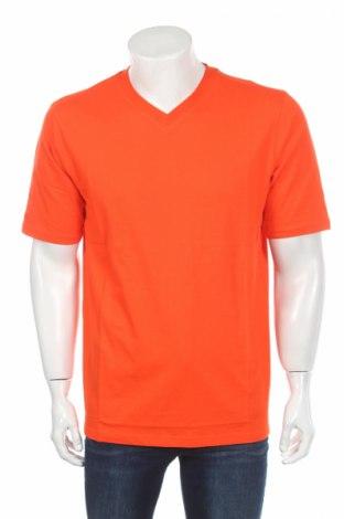 Мъжка тениска Jako, Размер L, Цвят Оранжев, Памук, Цена 24,00лв.