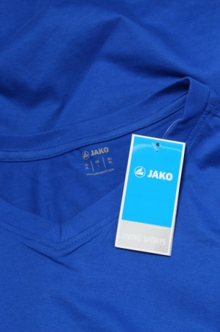 Мъжка тениска Jako, Размер XL, Цвят Син, Памук, Цена 24,00лв.