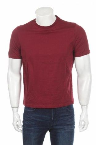Мъжка тениска Jako, Размер S, Цвят Червен, Памук, Цена 12,80лв.
