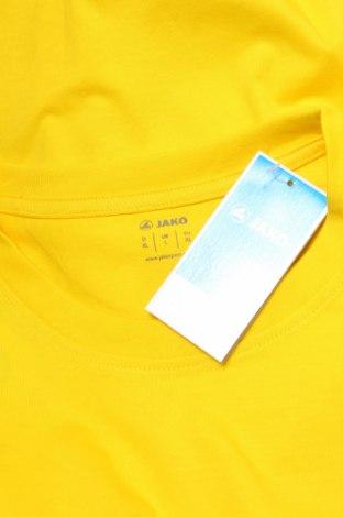 Мъжка тениска Jako, Размер XL, Цвят Жълт, Памук, Цена 24,00лв.