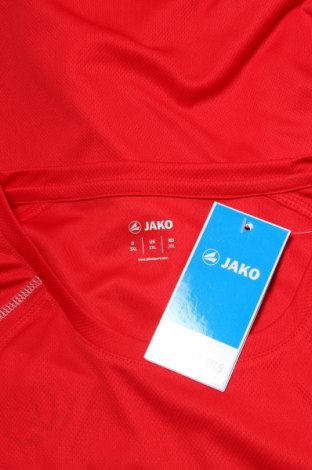Мъжка тениска Jako, Размер XXL, Цвят Червен, Полиестер, Цена 24,00лв.