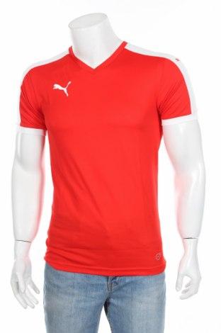 Мъжка тениска PUMA, Размер S, Цвят Червен, Полиестер, Цена 44,25лв.