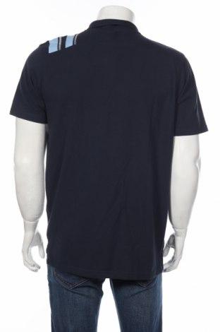 Мъжка тениска Uhisport, Размер L, Цвят Син, 60% памук, 40% полиестер, Цена 13,65лв.