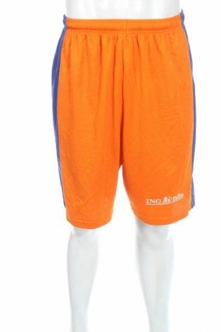 Ανδρικό κοντό παντελόνι, Μέγεθος M, Χρώμα Πορτοκαλί, Πολυεστέρας, Τιμή 3,56€