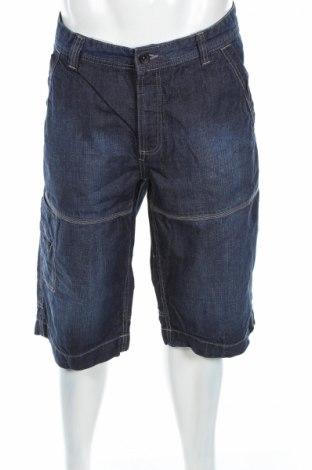 Мъжки къс панталон Biaggini, Размер XL, Цвят Син, 100% памук, Цена 17,01лв.