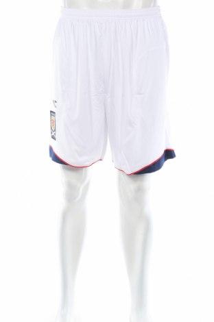 Мъжки къс панталон Diadora, Размер L, Цвят Бял, Полиестер, Цена 15,20лв.