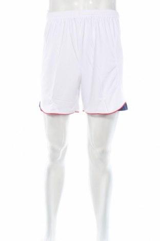 Мъжки къс панталон Diadora, Размер S, Цвят Бял, Полиестер, Цена 11,40лв.