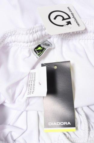 Мъжки къс панталон Diadora, Размер S, Цвят Бял, Полиестер, Цена 15,20лв.