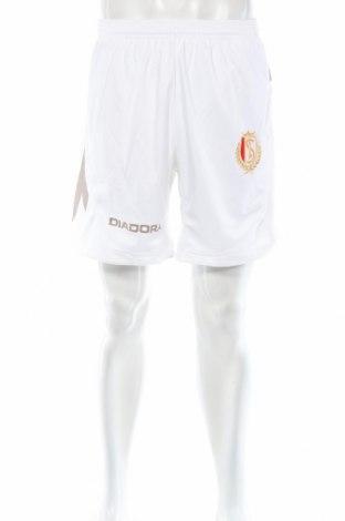 Мъжки къс панталон Diadora, Размер L, Цвят Бял, Полиестер, Цена 13,30лв.
