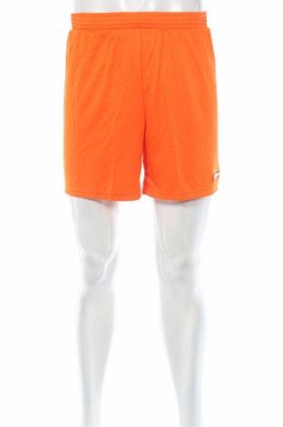Мъжки къс панталон Erima, Размер M, Цвят Оранжев, Полиестер, Цена 13,65лв.
