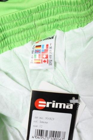 Мъжки къс панталон Erima, Размер XXL, Цвят Зелен, Полиестер, Цена 13,65лв.