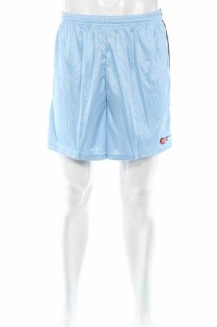 Мъжки къс панталон Erima, Размер M, Цвят Син, Полиестер, Цена 11,40лв.