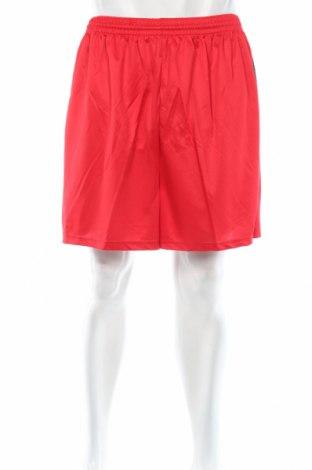 Мъжки къс панталон Erima, Размер XL, Цвят Червен, Полиестер, Цена 11,40лв.